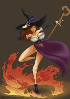 Dragon's crown, Sorceress by DavidRaphet