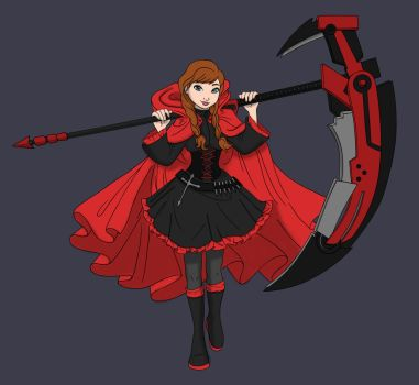 Anna Rose by Blueoriontiger