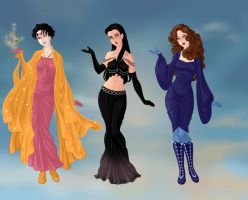 X-Ladies in Asgard 2. by Red-Queen666
