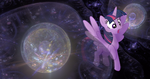The Multiverse is Too Small! - Giant Twilight by FlutterbatIsMagic