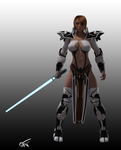 Bodecia Knights of the Old Republic character alt. by GustavoArmando