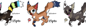 Quick Adopts 2 - 15POINTS - 0/3 CLOSED by MichelsAdoptions
