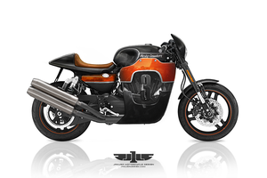 Harley- Davidson XR custom by Jakusa1