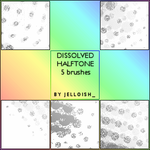 Brushes - Dissolved Halftone by greyskymorning