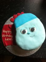 Iggle Piggle Birthday Cake by Stacey2512