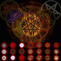Pentagram Start Orbs by meRsaaD