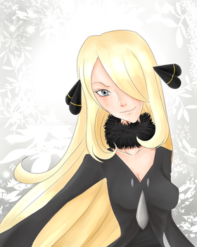 Sinnoh's Blonde Beauty by GwenCanDrawZat