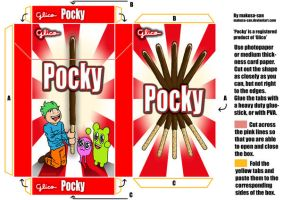 pocky box template by makusa-san