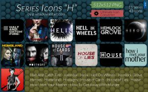 TV Series Icons H by g-Vita