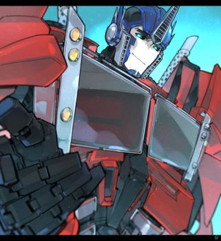 TFP Optimus. by Tojosaka666