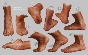 Feet study 4 by irysching