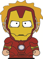 South Park - Kenny - Iron-Man by RobotHellboy1114