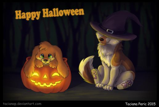 Happy Puppy Halloween! by Fecu