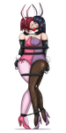 Kallen and Hinata - Ballgagged Bunny Bondage by 34Qucker