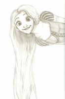 Tangled: Rapunzel by DragonfireXAgent