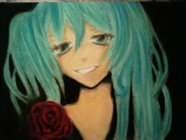 Rose attempt. Hatsune Miku by Ritunes