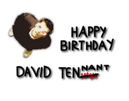 Happy birthday, David Tennant by realtimelord