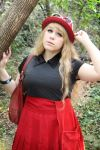 Pokemon Trainer XY cosplay by KittyCouch
