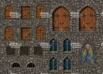 Table Top Towns Castles - Doors, Windows and so on by Mortis-of-midian