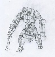 Warforged Barbarian by Nny2