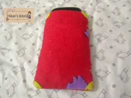 Gravity Falls Cellphone pouch Back by Hikarisworld
