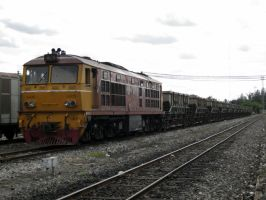 Alsthom 4405 with Hopper Wagon by VachalenXEON