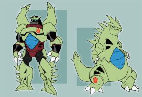 Tyranitar used... transform? by chief-orc
