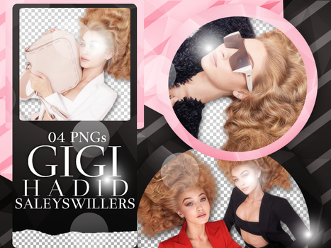 Gigi Hadid PNG Pack #20 by SaleySwillers