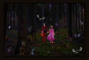 Lost trick or Treating by LindArtz