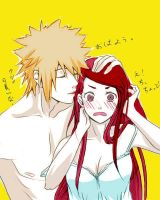 Minato x Kushina// Scan Colored. by XxUtauHikaruxX