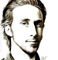 Ryan Gosling by Spectrum-VII
