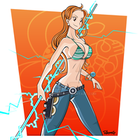 One Piece - Nami by RobsonG