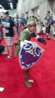 AX 2012: Link cosplay by foxanime101