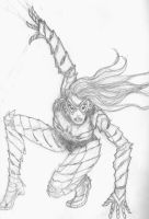 Spider Woman Revamp by The-Rogue-Scarecrow