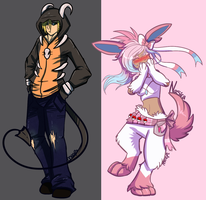 Pokemon Trainers: Dark and Fairy by SushiMeep