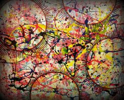 totally pollock cosmos by santosam81