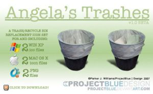 Angela's Trashes by projectblue