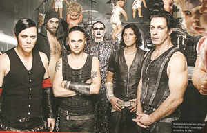 Rammstein-group by kate-zombie