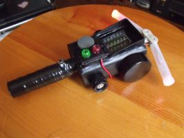 Real Ghostbusters inspired PKE Meter by knight217