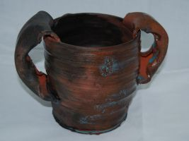 Two Handled Pot by CaptainColossal