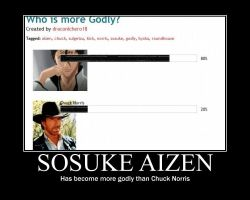 Aizen is Too Godly by draconichero18