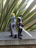 Final Fantasy VIII Figures by zelu1984