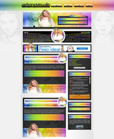 Allie Gonino Wordpress Theme by Rey0552