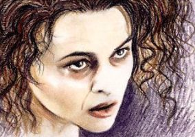 Helena Bonham-Carter mini-portrait by whu-wei