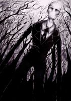 Slender Man by ApocalypticPorcelain