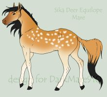 Equilope for Dark-Mare910 by Okami-Haru
