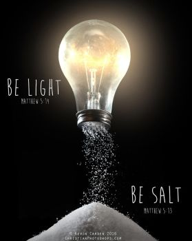 Be Light and be Salt by kevron2001
