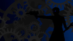 Engineer Silhouette Wallpaper by TGWabba