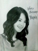 yoona drawing by SNSDartwork