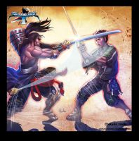 Mitsurugi VS Yunsung by ChekydotStudio